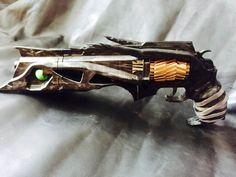Hi! You are purchasing a 3d printed, already assembled gun Thorn from world well-known game Destiny.  This gun is handmade, 3d printed of PLA plastic, which is friendly to human, painted and varnished.  Average time to make this gun is about 10-15 days.  This gun has movable cylinder.  Dimensions are: 42 cm length, 8 cm width and 18 cm height  If you have questions, dont hesitate to contact us.  Thanks    #Destiny #Destinygame #ThornDestiny #destinyhandcannon #handcannon #destinygun #Thorn…