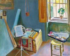 Inside the Room - Géza Bornemisza , 1919 Hungarian, Henri Matisse, Flora, Room, Paintings, Windows, Art, Latest Trends, Bedroom, Art Background