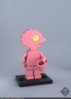 Construction Toys of the Year Lego Minifigure Display, Lego Minifigs, Lego Ninjago, Lego Display, All Lego, Lego Dc, Lego Adventure Time, Adventure Time Personajes, Abenteuerzeit Mit Finn Und Jake