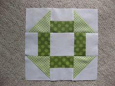 Quilt Block #3 Churn Dash
