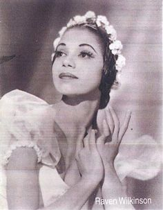 "deafmuslimpunx: ""Raven Wilkinson, one of the first Black/African American ballerinas to join a major ballet company (see earlier post) "" When Raven Wilkinson was about five years old, her mother took her to the City Center Theater to see the Ballet."