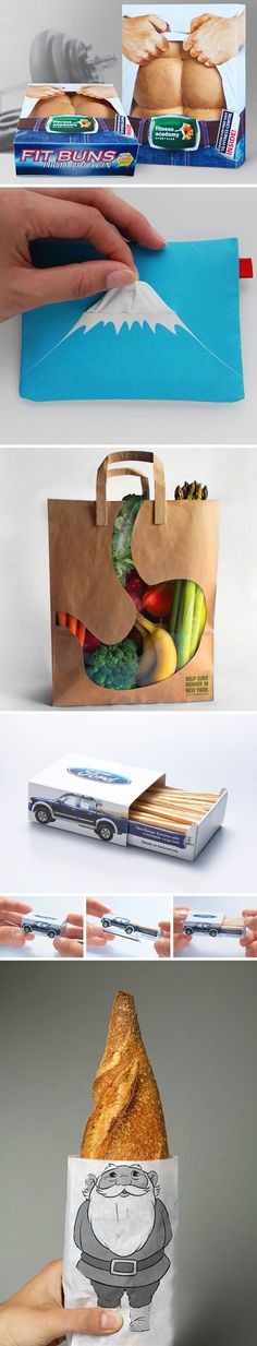 funny creative product packaging
