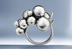 Moonlight Grape ring, Georg Jensen