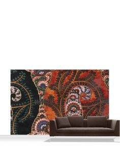 Victoria and Albert Museum Design for Printed Shawl Mural, Standard, 12 x 8 at MYHABIT