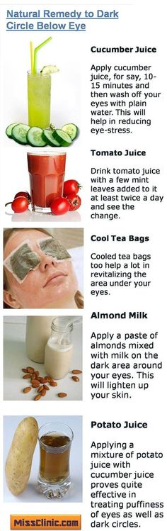 Natural, DIY remedies to get rid of bags under your eyes