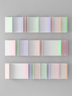 Art and Artists // Toshitaka Aoyagi explores color bleeds with beautiful results