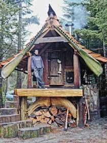 Off Grid Concepts: Cabins and Quilts