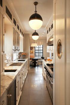 11 best galley kitchen ideas images kitchens kitchen dining rh pinterest com