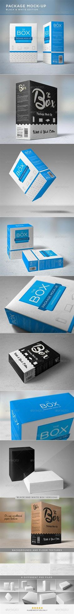Package Mock-Up – GraphicRiver » Free Hero Graphic Design: Special GFX Posts Vectors AEP Projects PSD Sources Web Templates 3D Stock Images | HeroGFX.com