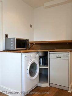 Washing machine London Apartment, Kew Gardens, One Bedroom, Washing Machine, Apartments, Home Appliances, Drop, House Appliances, Appliances