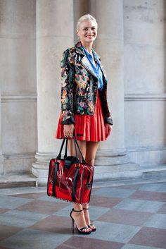 London Fashion Week Street Style : Pandora Sykes