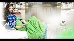 Triveni presents 'Shayna' – Triveni's Designer Collection of Faux Georgette Everyday Wear Casual Sarees in Rich Color Schemes Complemented by Beautiful Printed Art Silk Blouse Pieces. For Latest Creations - Catalogs - Videos - Do Like or Join Our Network FB Page - https://www.facebook.com/triveni.wholesale Or FB Page - https://www.facebook.com/triveni.saree For Wholesale Inquiry - Call or WhatsApp - Customer Care - +91 78741 18932 / +91 93282 18932