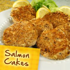 Diabetes Recipes: Salmon Cakes;  Can also use corn,  Parsley,  Celery,  Onion…