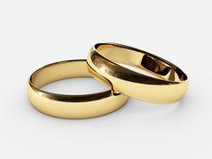 Ref: A 03 Argollas clásicas media caña en oro amarillo de 18k *El precio de cada pieza esta sujeto al precio del oro a la fecha de compra y tallas correspondientes.