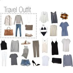 A Sunny Travel Destination (  Travel Outfit) by keelyhenesey on Polyvore