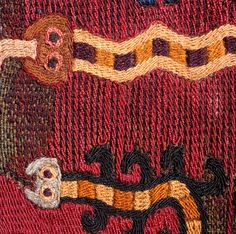 Nazca Peru, Boro Stitching, Peruvian Art, Peruvian Textiles, Inca, Tribal Art, Archaeology, Textile Art, Needlework