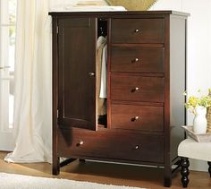 Farmhouse Chifforobe #potterybarn