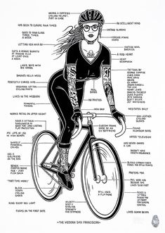 Bicycles Love Girls — Some advice before you go cycling. Found on...