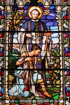 This first one is St. Francis Xavier He is sometimes picture with St. Ignatius Loyola