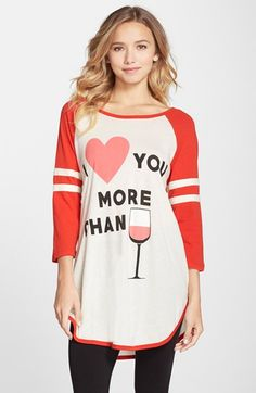 9be3c65c36 Wildfox+Cotton+Jersey+Nightshirt+(Nordstrom+Exclusive)+available+at+