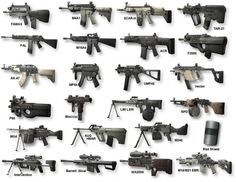 Guns of COD MW 2
