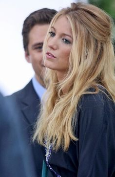 hair colors, messy hair, ombre hair, blake lively, long hair