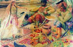 Russian Art, Museum Of Fine Arts, Art Database, Painting, Visual Art, Art, Aberdeen Art Gallery, Woodcut, Artwork Painting