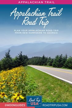 Plan a road trip in parallel to the Appalachian Trail from New Hampshire to Georgia. This trip planner guides you to the best historic sites, scenery, and places to eat and stay along the two-lane highways of New England the mid-Atlantic. Road Trip Map, East Coast Road Trip, Road Trips, Pennsylvania Dutch Country, Delaware Water Gap, Trip Planner, Shenandoah National Park, Appalachian Trail, Weekend Trips