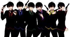 Osomatsu-san Characters:Osomatsu/Karamatsu/Choromatsu/Ichimatsu/Juushimatsu/Todomatsu