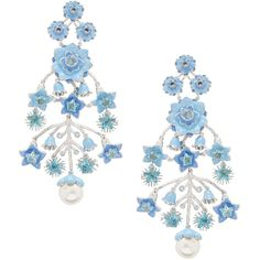 Bluestar Earrings ❤ liked on Polyvore featuring jewelry, earrings and earrings jewelry