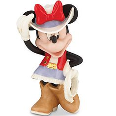 LENOX Figurines: Disney - Disney's Rodeo Minnie Figurine
