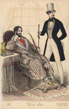 A Proper, Psychedelic Gentleman: Fashionably Fancy 1840s and 1850s Waistcoats