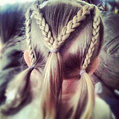 """M"" toddler hair style"