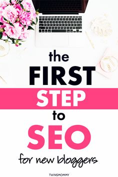 Small businesses need search engine optimization to marketing their blog online. Learn the first step to SEO. #searchengineoptimization #smallbusiness