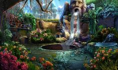 Dark Parables: Queen of Sands video game art #BigFish