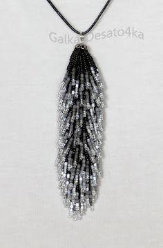 Beaded Tail | biser.info - Cuentas y abalorios