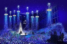 2014年11月13日(木)から2015年1月12日(月・祝)の期間、青い世界に包まれる幻想的なイルミネーション、Caetta Illumiatio 2014 「カノン・ダジュール Cayo d#39...