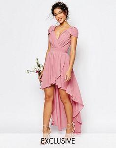 TFNC WEDDING High Low Chiffon Dress