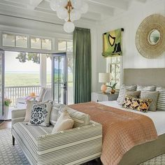 Habersham, SC is proud to have been selected as the host location for the 2018 Coastal Living Idea House and Open Home Event from July to October, 2018 Costal Bedroom, Bedroom Green, Home Bedroom, Bedroom With Couch, Beach House Bedroom, Budget Bedroom, Decoration Bedroom, Beach Cottage Decor, Cottage Bedroom Decor