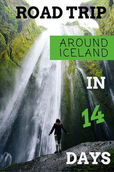 Road trip around Iceland in 14 days www.misstourist.com