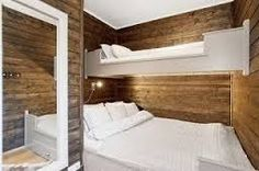 Discover recipes, home ideas, style inspiration and other ideas to try. Small Room Interior, Room Interior Design, Interior Decorating, Bunk Rooms, Bunk Beds, Bedrooms, Compact Living, Woodworking Bed, Cabin Interiors