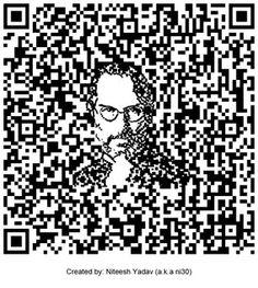 Steve Jobs #QR Code