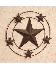 star wall decor barbed wire star wall decor sheplers - Star Wall Decor