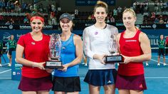 Martina Hingis and Sania Mirza won their 10th WTA doubles title together in Brisbane and have now won 26 matches in a row - the longest doubles win streak in 22 years.