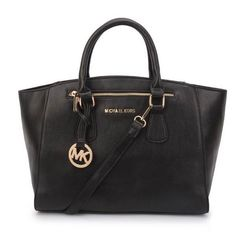 Michael Kors Sophie Large Black Satchels Is Extremely Fashionable With Best Quality And Service!