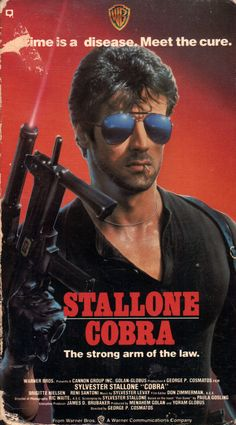 Stallone Cobra, Rocky Stallone, Classic Tv, Classic Movies, 1980s Films, Rambo, Movie Wallpapers, Sylvester Stallone, Los Angeles
