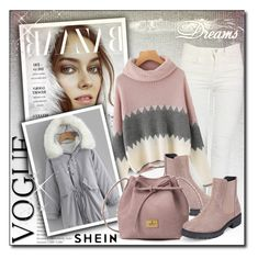 """Shein 4/10"" by sanela1209 ❤ liked on Polyvore"