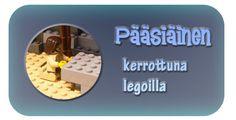 Pääsiäinen kerrottuna legoilla Projects To Try, Lego, Easter, Joyful, Celebrations, Crafts, Holidays, Education, Learning