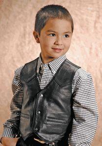 Black Napa Vest