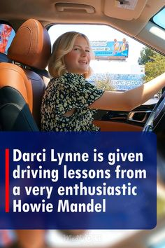 At 12 years old, Darci Lynne won America's Got Talent thanks to her ventriloquist skills. Now that she is 16, she has started to learn how to drive. Howie Mandel volunteered to give her some tips. When she saw how he went through the obstacle course that he put together, she may have regretted her decision to learn from him. #agt #americasgottalent #car #drive #simon #lessons America's Got Talent Videos, Howie Mandel, Driving Courses, Terry Crews, Tyra Banks, Learn To Fly, Obstacle Course, 16 Year Old, Teaching